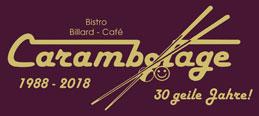30 Jahre Bistro Billard-Café Carambolage Klingenberg