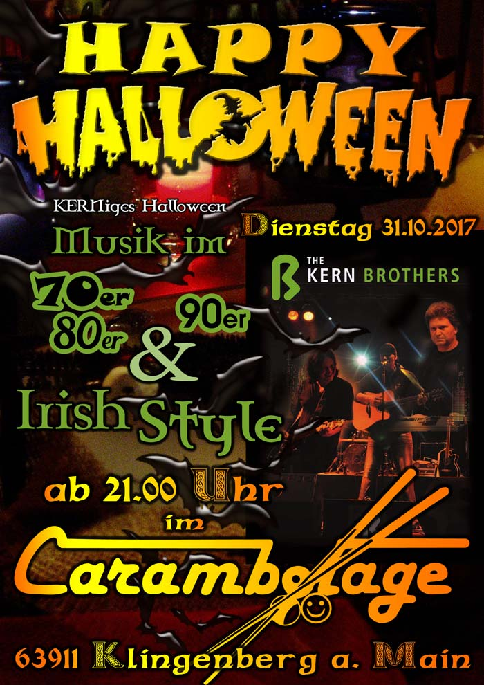 Halloween 2017 im Carambolage Klingenberg a. Main
