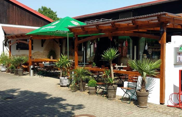Bistro Billard-Café Carambolage Biergarten