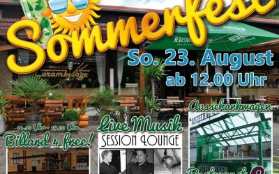Sommerfest am 23. August 2015