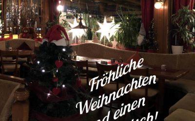 Die Öffnungszeiten an den Weihnachtsfeiertagen, Silvester & Neujahr ✭ ✭ ✭