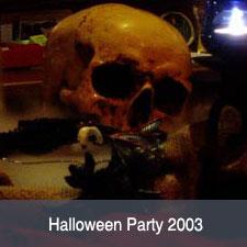 Halloween Party im Cara 2003