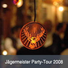 2008 – Jägermeister Party-Tour