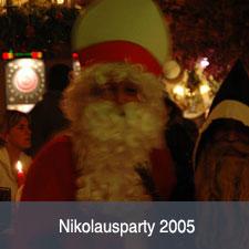 Unsere 2005er Nikolausparty