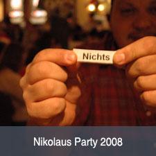 Die 2008er Cara-Nikolausparty