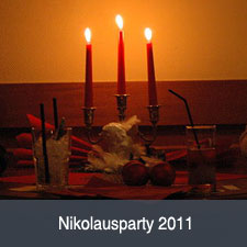 Unsere 2011er Nikolausparty