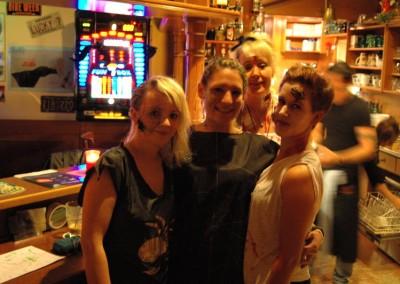 Halloween im Carambolage - 2012 - die Mädels