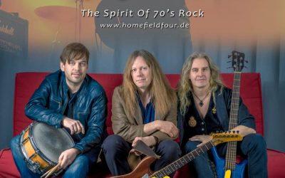 70er Jahre Band HOMEFIELD FOUR aus HH