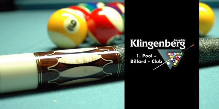 Vereine im Carambolage: 1.PBC Klingenberg e.V.